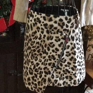Leopard H & M mini Leopard Skirt